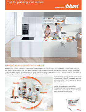 Blum Kitchen Planning Tips