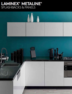 Laminex Metaline Splashbacks & Panels